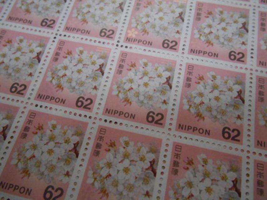 SALE☆☆62円切手 100枚セット☆☆